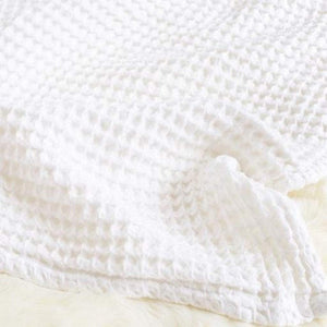 The Sugar House Gifts & Apparel The Sugar House Cloud Blanket White