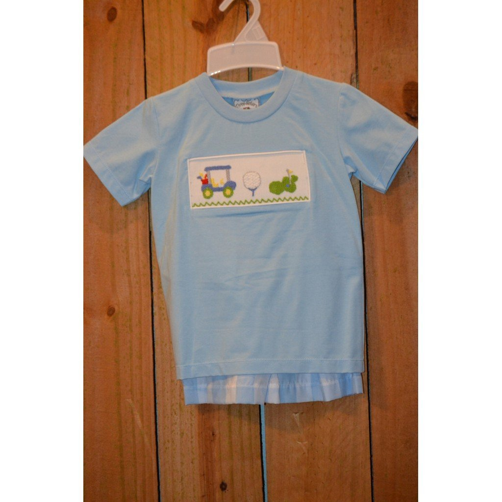 Three Sisters Boys Apparel 2T / Blue Three Sisters Boys Hole in One Short Set