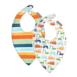 TOMY Baby Care JJ Cole Digger Bandana Bib 2 pack