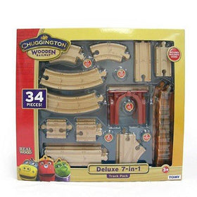 Chuggington Wooden Railway 7 in 1 Train Pack-Toys-Babysupermarket