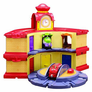 Chuggington Wooden Railway Double Decker Roundhouse-Toys-Babysupermarket