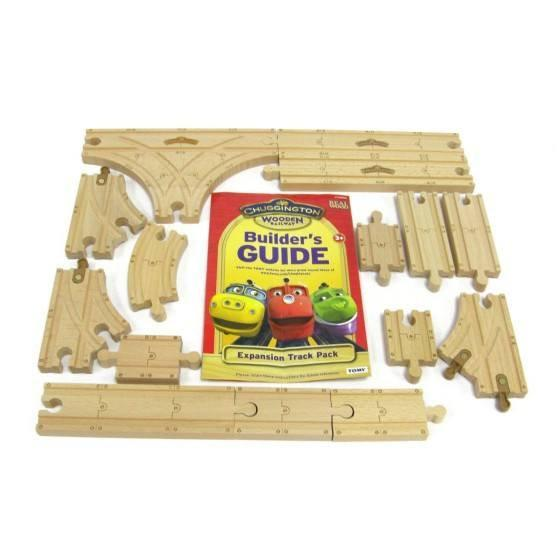 Chuggington Wooden Railway Expansion Track Pack-Toys-Babysupermarket