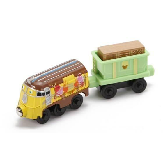 Chuggington Wooden Railway Frostini and Ice Cream-Toys-Babysupermarket