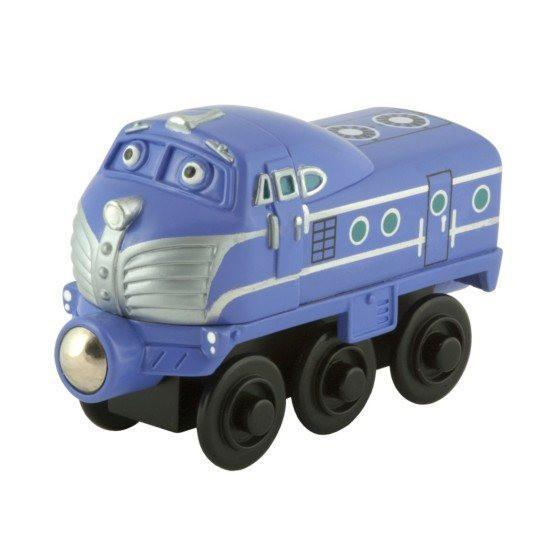Chuggington Wooden Railway Harrison Engine-Toys-Babysupermarket
