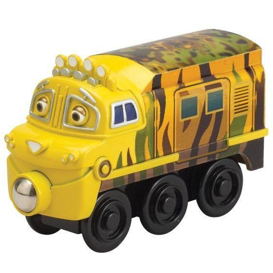 Chuggington Wooden Railway Mtambo Engine-Toys-Babysupermarket