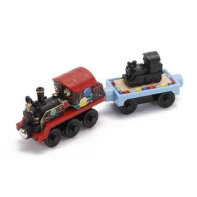Chuggington Wooden Railway Old Puffer Pete with 150th Anniversary Car-Toys-Babysupermarket