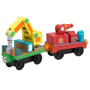 Chuggington Wooden Railway Rescue Cars 2 Pack-Toys-Babysupermarket