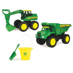 TOMY Toys John Deere Big Scoop Sand Tools