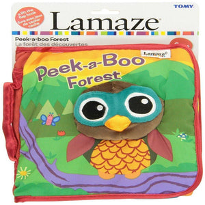 Lamaze Peek A Boo Forest Soft Lift the Flap Book-Toys-Babysupermarket