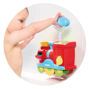 TOMY Toys Tomy Bubble Blast Train