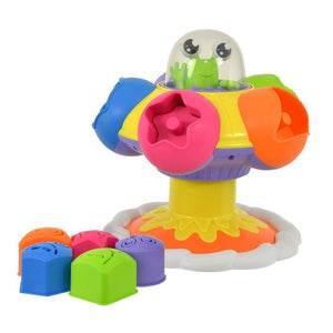 TOMY Toys Tomy Sort and Pop Spinning UFO
