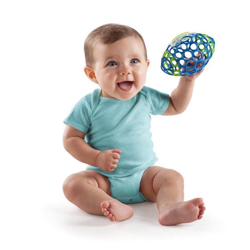 Oball Grab Amp Rattle Football Baby Supermarket