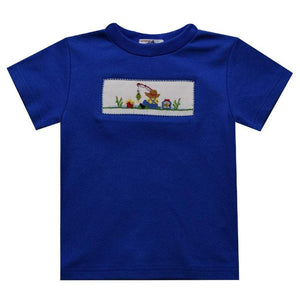 Vive La Fete Apparel Vive La Fete Boys Smocked Fishing T-Shirt