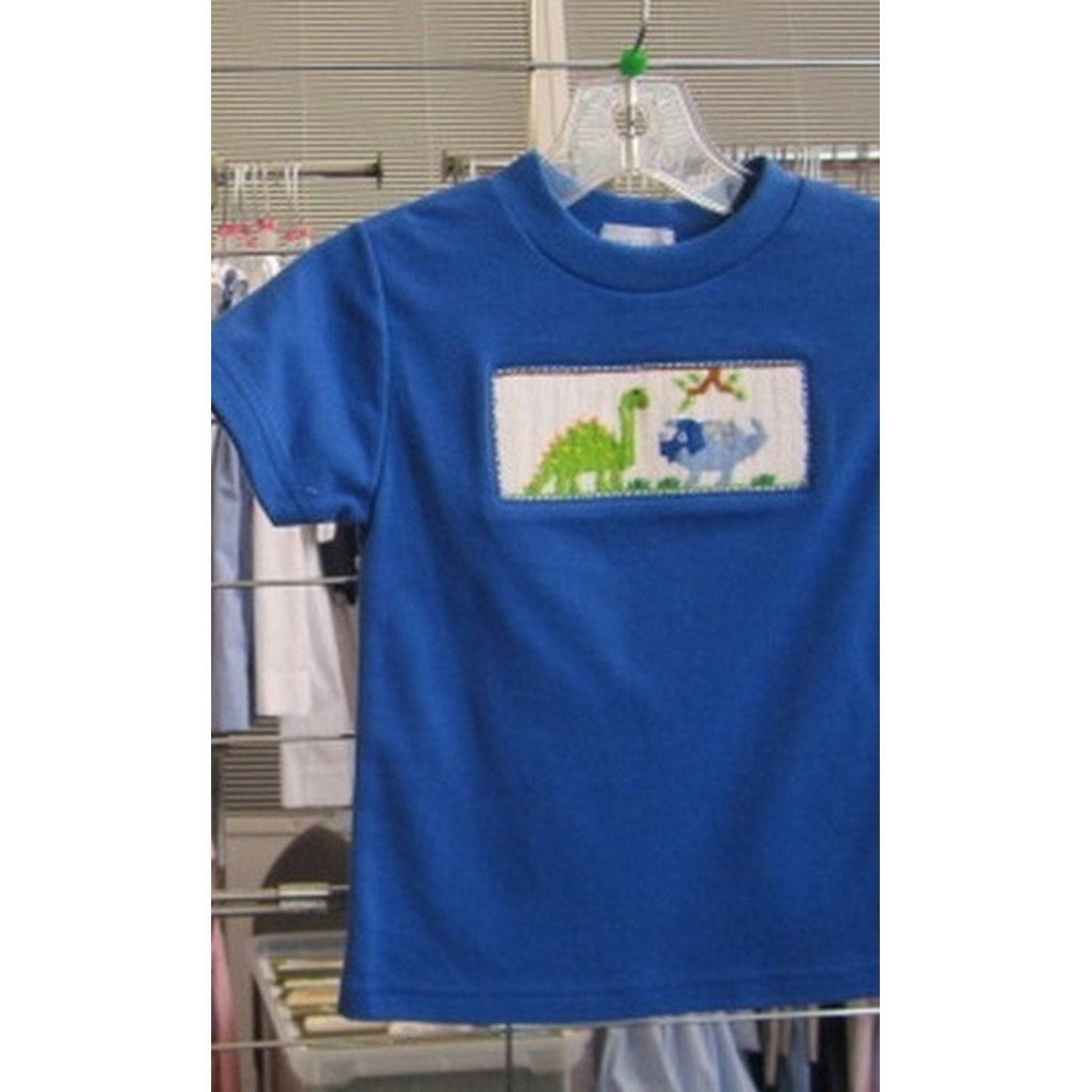 Vive La Fete Toddler Boy Apparel 2T / Blue Vive Le Fete Dino Boy's Shirt