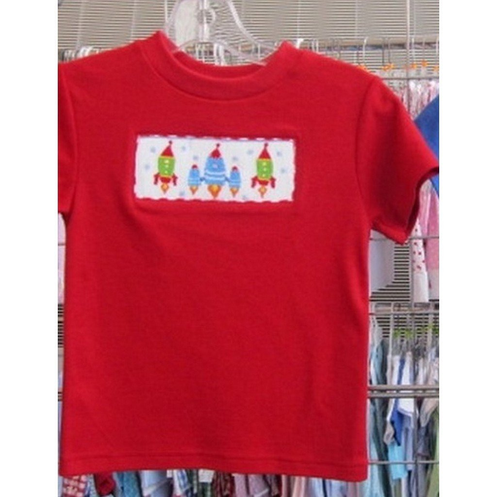 Vive La Fete Toddler Boy Apparel 2T / Red Vive Le Fete Rocket Boy's Shirt