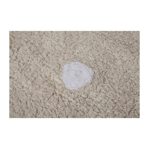 Lorena Canals Nursery Décor Washable Rug by Lorena Canals Biscuit Beige