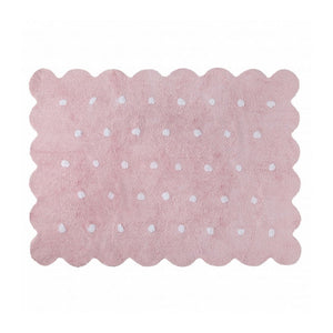 Lorena Canals Nursery Décor Washable Rug by Lorena Canals Biscuit Pink
