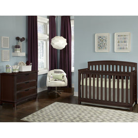 Westwood Midtown Convertible Crib Chocolate-Furniture-Babysupermarket
