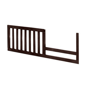 Westwood Midtown Convertible Crib Toddler Guard Rail Chocolate-Furniture-Babysupermarket