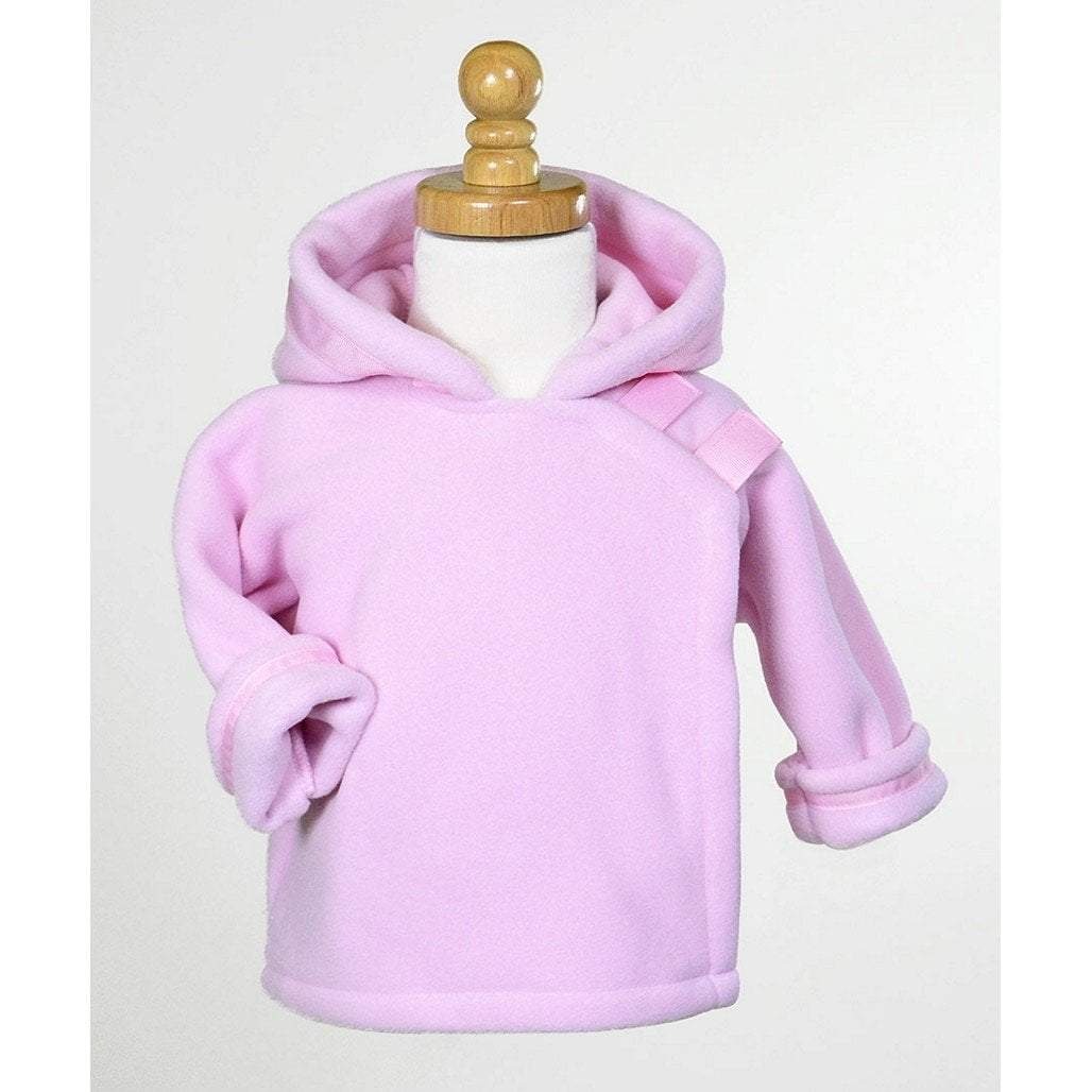 Widgeon Apparel 2T / White Widgeon Girls or Boys Fleece Warm Plus Favorite Hooded Jacket Coat