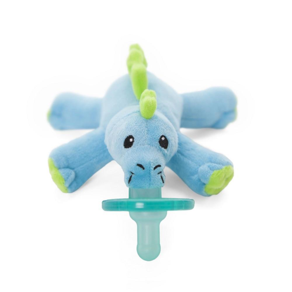 WubbaNub Pacifier Holder Baby Dino-Baby Care-Babysupermarket