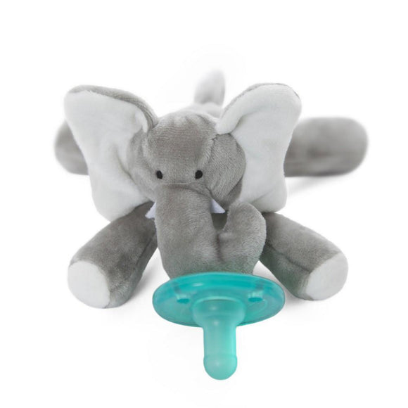 WubbaNub Pacifier Holder Elephant-Baby Care-Babysupermarket