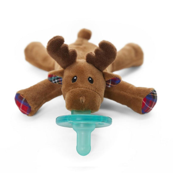 WubbaNub Pacifier Holder Reindeer-Baby Care-Babysupermarket