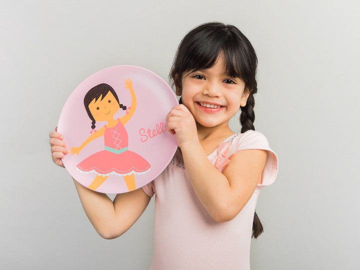 ballerina mealtime set