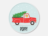 christmas tree truck :: girl
