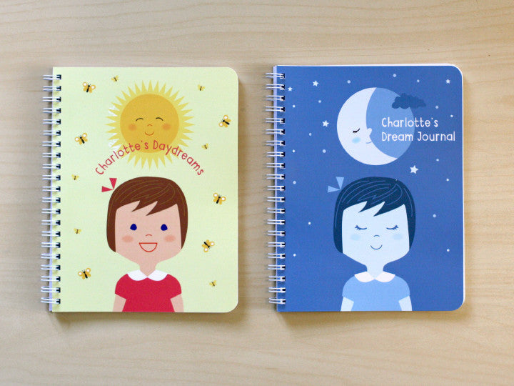 day & night girl notebook set