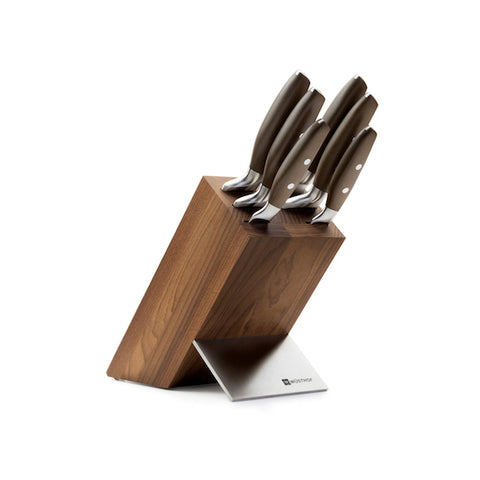 WUSTHOF Epicure Block Set with 6 Epicure Knives
