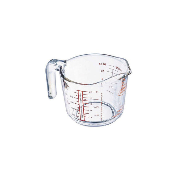 ARCUISINE Glass Measuring Cup, 0.25L