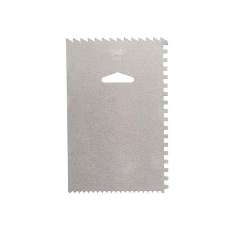 ATECO Decorating Comb/Icing Smoother