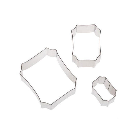 ATECO S/S 3-piece Plaque Cutters