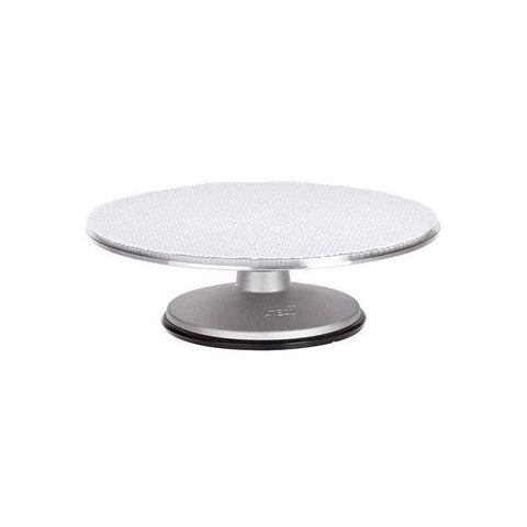 "ATECO 12"" Revolving Cake Stand/Turntable with Aluminum Base"