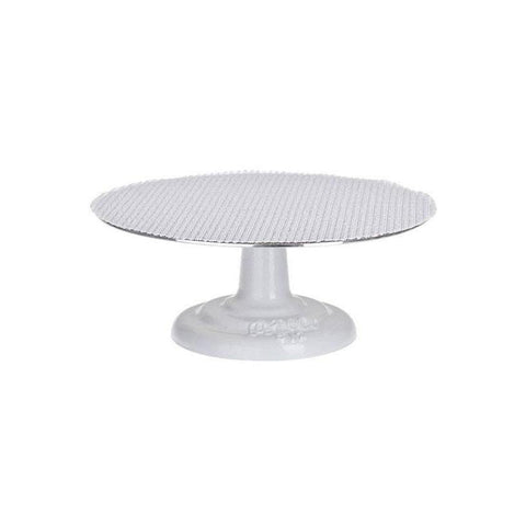 "ATECO 12"" Revolving Cake Stand/Turntable with Cast Iron Base"
