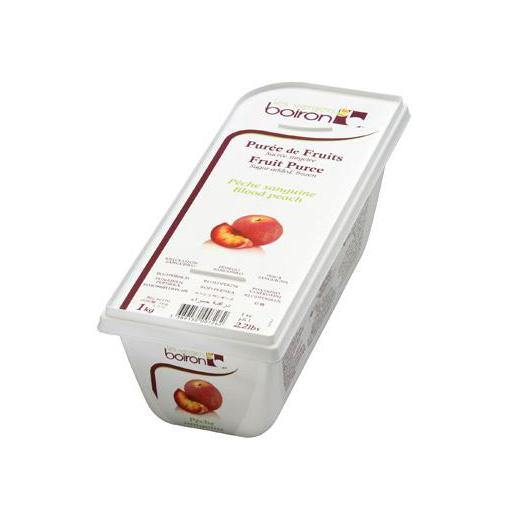 BOIRON Frozen Fruit Puree, Blood Peach
