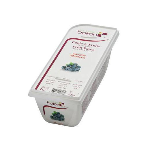BOIRON Frozen Fruit Puree, Blueberry