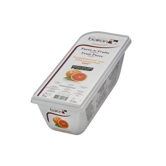 BOIRON Frozen Fruit Puree, Pink Grapefruit