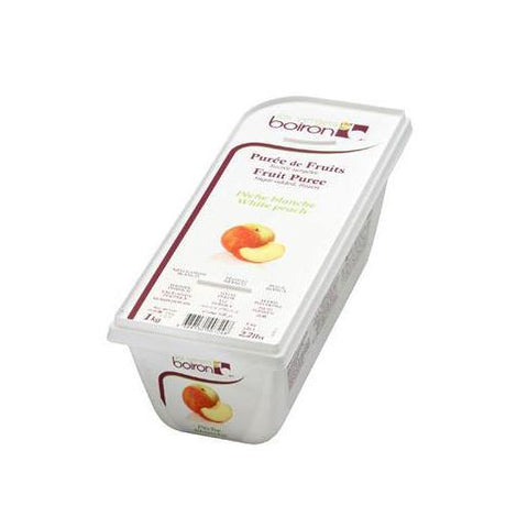 BOIRON Frozen Fruit Puree, White Peach