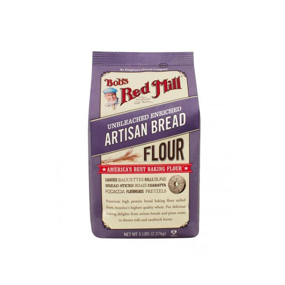 BOB'S RED MILL Artisan Bread Flour, 2.27kg