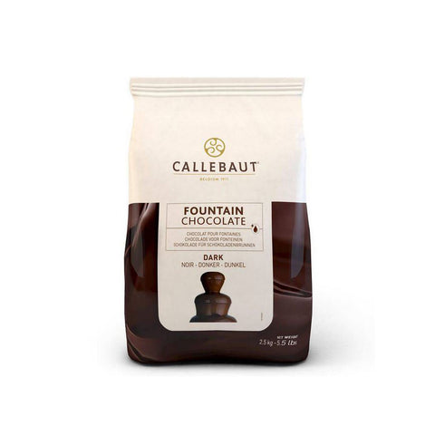 CALLEBAUT Dark Chocolate for Fountains, 2.5kg