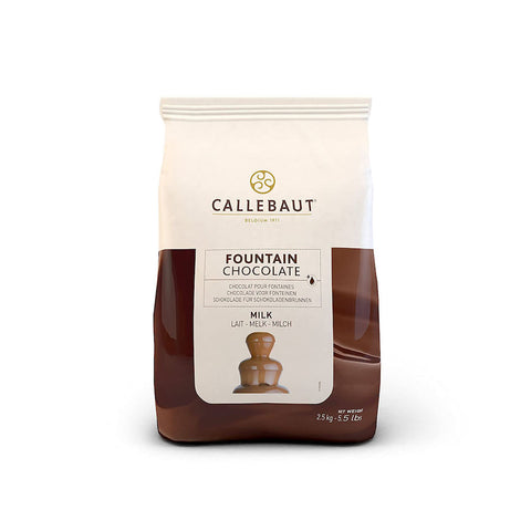 CALLEBAUT Milk Chocolate for Fountains, 2.5kg