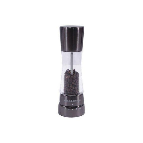 COLE & MASON Derwent Gunmetal Pepper Mill