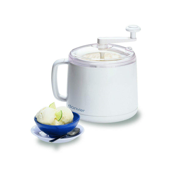 CUISIPRO Donvier Ice Cream Maker, 1qt/1L
