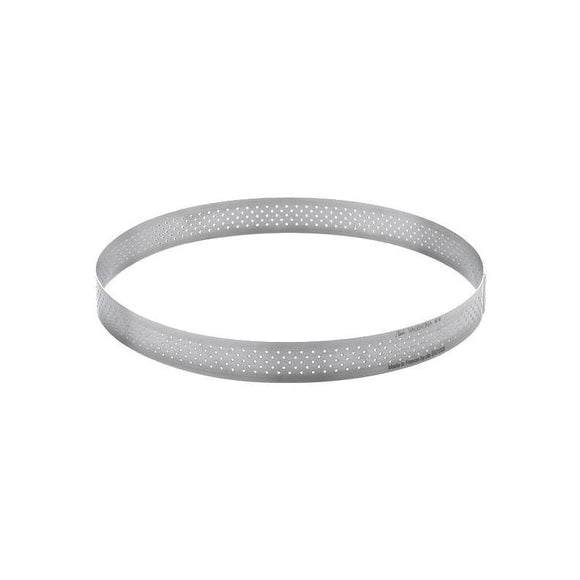 DE BUYER S/S Perforated Round Tart Ring