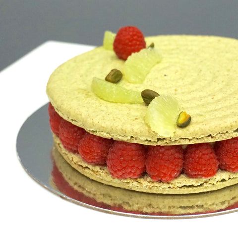 March Feature: 'Linger' Macaron Cake