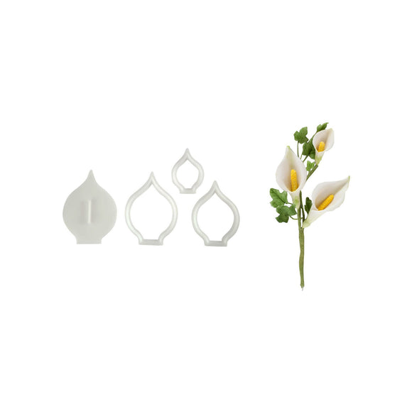 FMM SUGARCRAFT Arum Lily Cutters (set of 3)