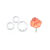 FMM SUGARCRAFT Carnation Cutters (set of 3)