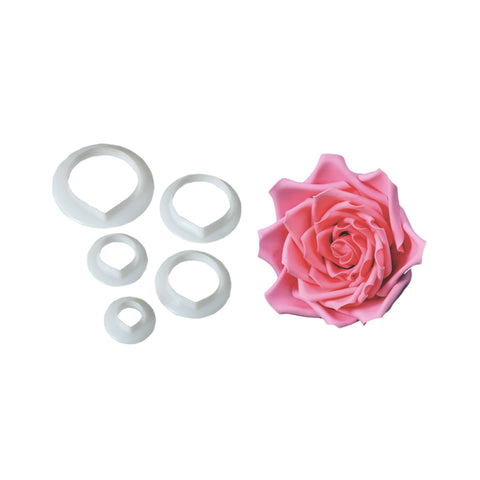 FMM SUGARCRAFT Rose Petal Cutters (set of 5)